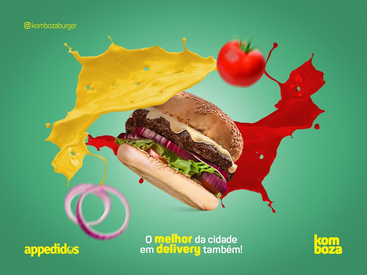 Social Media Komboza Burger